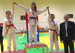 Sabine Leis podium criterium